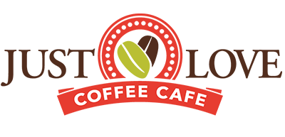 just love coffee cafe franchise logo